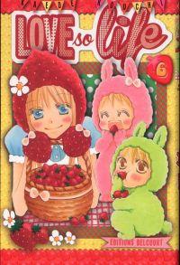 Love so life T6, manga chez Delcourt de Kouchi