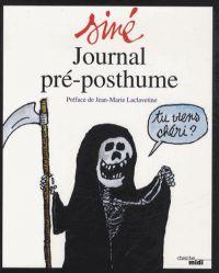 Journal pré-posthume, bd chez Cherche Midi de Siné