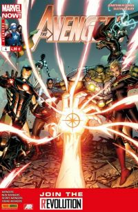 The Avengers (revue) – V 4, T4 : La marque de l'étoile (0), comics chez Panini Comics de Gillen, Spencer, Hickman, Norton, Ross, McKelvie, Epting, Weaver, Ponsor, d' Armata, Wilson