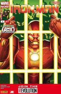 Iron Man (revue) T4 : Le déicide (1/2) (0), comics chez Panini Comics de Loeb, Fraction, Gillen, Bagley, Land, McGuinness, Delgado, Mounts, Guru efx, Beredo, Gracia