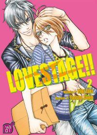 Love stage T2, manga chez Taïfu comics de Eiki, Zao