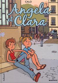 Angela et Clara, bd chez Gallimard de Calo