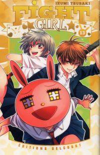 Fight girl T13, manga chez Delcourt de Tsubaki
