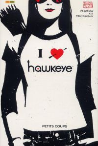 Hawkeye T2 : Petits coups (0), comics chez Panini Comics de Fraction, Lieber, Aja, Hamm, Francavilla, Wu, Hollingsworth