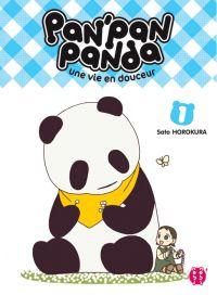 Pan' pan panda T1, manga chez Nobi Nobi! de Horokura