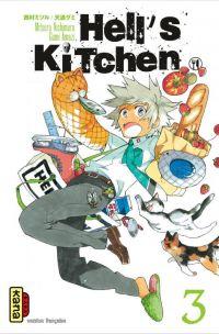 Hell's kitchen  T3, manga chez Kana de Nishimura, Amashi