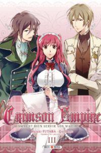 Crimson empire T3, manga chez Soleil de Quinrose, Futaba