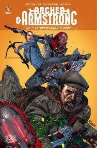 Archer & Armstrong – édition librairie, T1 : Le Michaelangelo code (0), comics chez Panini Comics de Van Lente, Henry, Perez, Milla, Suayan