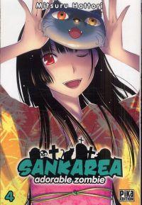 Sankarea - adorable zombie T4, manga chez Pika de Hattori