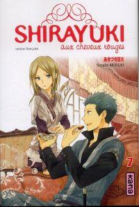 Shirayuki aux cheveux rouges T7, manga chez Kana de Akizuki