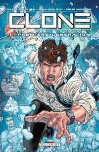 Clone T1 : Première génération (0), comics chez Delcourt de Schulner, Juan Jose Ryp, Serrano