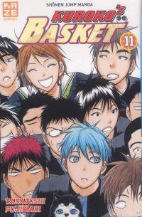 Kuroko's basket T11, manga chez Kazé manga de  Fujimaki