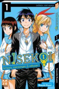 Nisekoi T1, manga chez Kazé manga de Komi