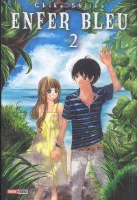 Enfer bleu T2, manga chez Panini Comics de Shiina
