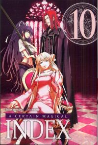 A certain magical index T10, manga chez Ki-oon de Kamachi, Kogino