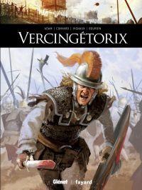 Vercingétorix, bd chez Glénat de Convard, Adam, Vignaux