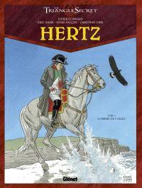 Hertz T4 : L'Ombre de l'Aigle (0), bd chez Glénat de Adam, Convard, Gine, Falque, Lecot, Juillard
