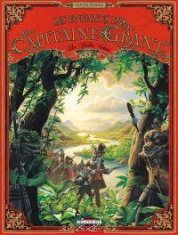 Les enfants du Capitaine Grant, de Jules Verne T3, bd chez Delcourt de Nesme