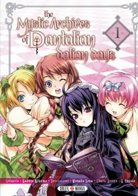 The mystic archives of Dantalian - Dalian days  T1, manga chez Soleil de Mikumo, Sena, Yusuke (Green Wood)