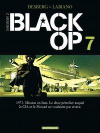 Black OP T7, bd chez Dargaud de Desberg, Labiano