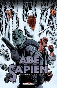 Abe Sapien T3 : Nouvelle espèce (0), comics chez Delcourt de Mignola, Allie, Arcudi, Fiumara, Fiumara, Stewart
