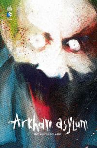 Batman - Arkham Asylum, comics chez Urban Comics de Morrison, McKean