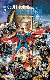 Geoff Johns présente – Superman, T4 : La légion des trois-mondes (0), comics chez Urban Comics de Johns, Perez, Hi-fi colour