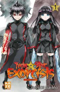 Twin star exorcists T1, manga chez Kazé manga de Sukeno