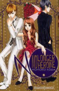 No longer heroine T5 : , manga chez Delcourt de Koda