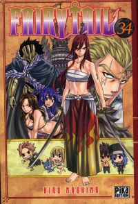 Fairy Tail T34, manga chez Pika de Mashima