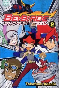 Beyblade shogun steel  T2, manga chez Kazé manga de Adachi