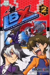 LBX Little Battlers Experience T2, manga chez Kazé manga de Fujii