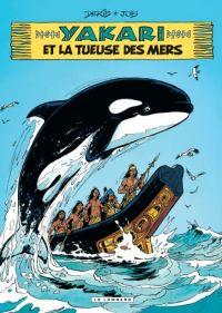 Yakari T38 : et la tueuse des mers (0), bd chez Le Lombard de Job, Derib, Dominique