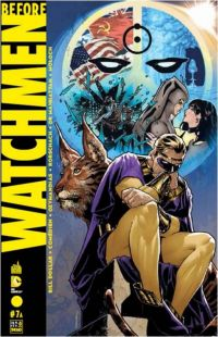 Before Watchmen T7, comics chez Urban Comics de Azzarello, Wein, Straczynski, Bermejo, Rude, Lee, Hughes, Risso, Jones, Whitmore, Martin, Ciardo, Chung, Sinclair, Mulvihill, Loughridge, Lee