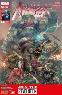 The Avengers (revue) T7 : Fort (0), comics chez Panini Comics de Hickman, Spencer, Gillen, Caselli, McKelvie, Guice, Deodato Jr, Martin, Wilson, Yu