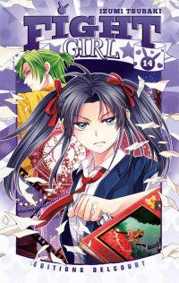 Fight girl T14, manga chez Delcourt de Tsubaki