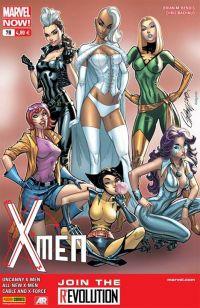X-Men (revue) – V 4, T7 : Nouveau mutant (0), comics chez Panini Comics de Bendis, Hopeless, Bunn, Bachalo, Immonen, Larroca, d' Armata, Gracia, Campbell