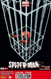 Spider-Man (revue) – V 4, T7 : La grande évasion (0), comics chez Panini Comics de Gage, Williams, Slott, Yost, Livesay, Dell, Walker, Camuncoli, Barberi, Pallot, Garza, Wong, Fabela, Sotomayor, Lokus