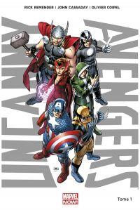 Uncanny Avengers T1 : Nouvelle union (0), comics chez Panini Comics de Remender, Cassaday, Coipel, Martin, Molinar