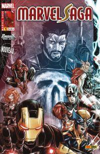 Marvel Saga T1 : Face-à-face - Punisher Warzone (0), comics chez Panini Comics de Rucka, Di Giandomenico, Hollingsworth, Checchetto