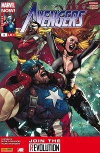 The Avengers (revue) – V 4, T8 : Message reçu (0), comics chez Panini Comics de Hickman, Spencer, Gillen, Guice, Theis, Epting, Norton, Caselli, McKelvie, Wilson, Martin, Delgado, Yu, Checchetto