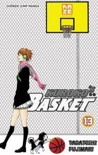Kuroko's basket T13, manga chez Kazé manga de  Fujimaki