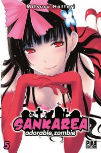 Sankarea - adorable zombie T5, manga chez Pika de Hattori