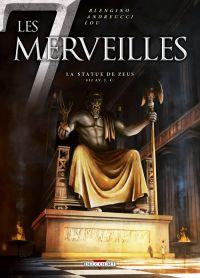Les 7 merveilles T1 : La statue de Zeus, bd chez Delcourt de Blengino, Andreucci, Lou, Rebuffat