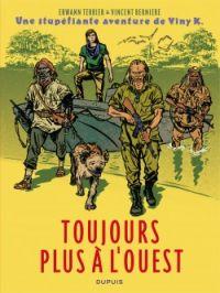Les Stupéfiantes aventures de Viny K. T2 : Colonel Diambar, bd chez Dupuis de Bernière, Terrier, Lamerre