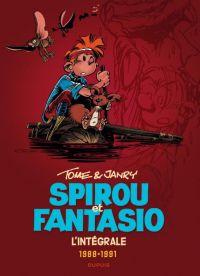 Spirou et Fantasio T15 : 1988-1991, bd chez Dupuis de Tome, Janry, de Becker