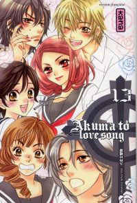 Akuma to love song T13, manga chez Kana de Tomori