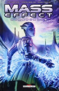 Mass Effect T3 : Homeworlds (0), comics chez Delcourt de Dombrow, Barlow, Walters, Weekes, Feketekuty, Staggs, Francisco, Brown, Francia, Marc, Atiyeh, Palumbo