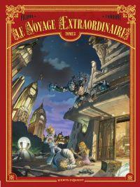 Le Voyage extraordinaire – cycle 1 : Le trophée Jules Verne, T3, bd chez Vents d'Ouest de Filippi, Camboni, Yvan