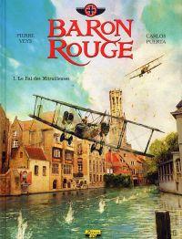 Baron rouge T1 : Le Bal des Mitrailleuses (0), bd chez Zéphyr de Veys, Puerta